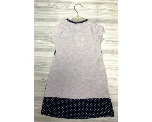 Плаття для дівчинки Bears сіре 3846