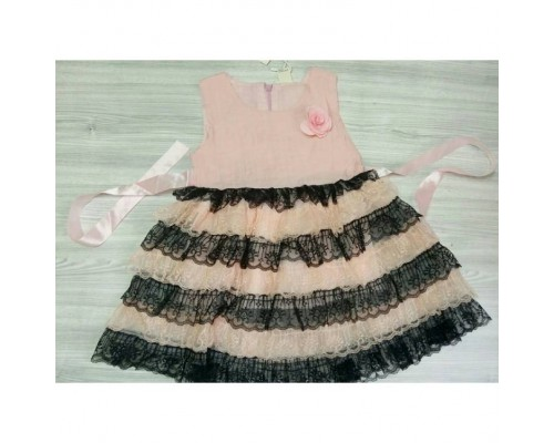 Плаття нарядне рожеве 3297