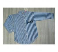 Сорочка Valentins синя 3431