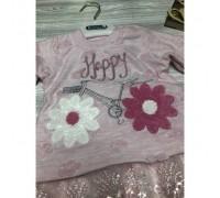 Костюм для дівчинки Happy рожевий 3798