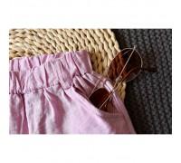 Літній костюм Leaf рожевий 3131