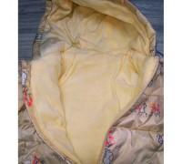 Демісезонна курточка для дівчинки беж 3675