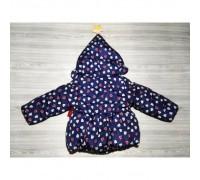 Куртка для дівчаток демісезонна фіолетова, поліестер