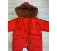 Курточка єврозима червона 3670