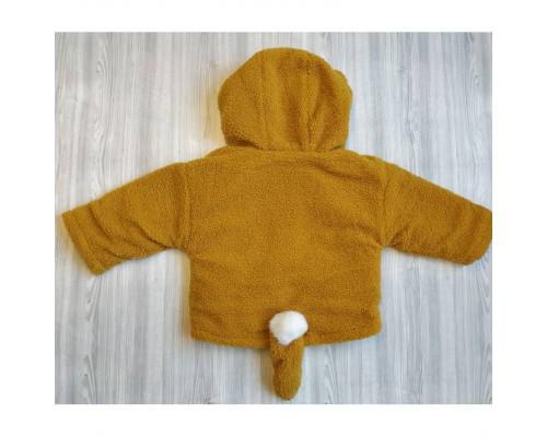 Пальто Fox жовте 3697