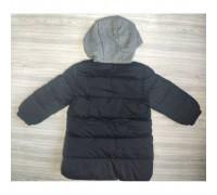 Пальто єврозима чорне 3667