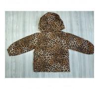 Вітровка для дівчаток леопардова