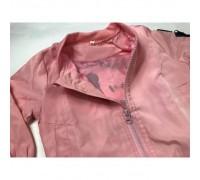 Бомбер для дівчинки рожевий Mickey 3979