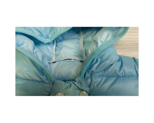 Демісезонна куртка блакитна 3605