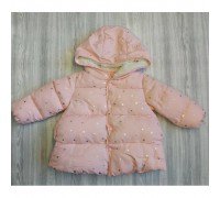 Демісезонна курточка для дівчинки рожева 3547