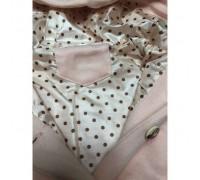 Пальто для дівчинки рожеве 3821