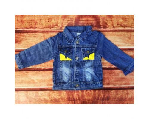 Джинсова курточка дитяча 8041