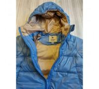 Куртка дитяча демісезонна блакитна VNP утеплювач синтепон