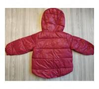 Куртка дитяча демісезонна малинова VNP утеплювач синтепон