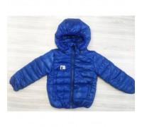 Куртка дитяча весна-осінь синя