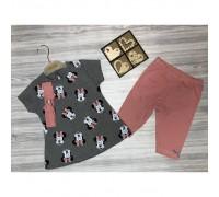 Літній костюм для дівчинки Deco 3743