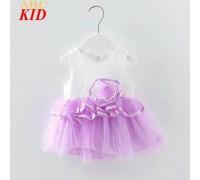 Сукня дитяча літня фіолетовий низ 7844