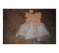 Сукня дитяча літня рожева з квіточками 6307