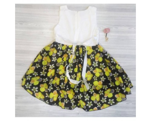 Сукня дитяча літня з жовтими квіточками