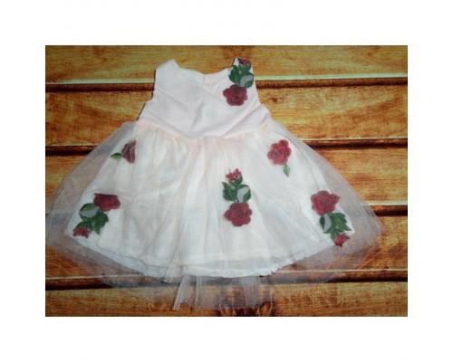 Сукня дитяча рожева 7565