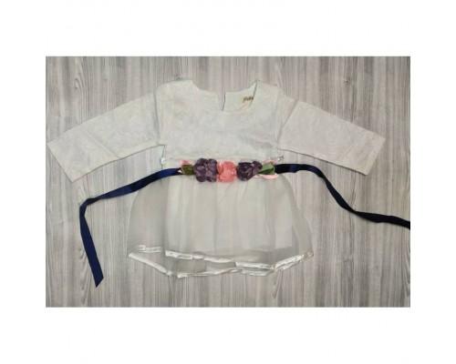 Сукня дитяча Satin біла