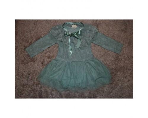 Сукня дитяча зелена 7199