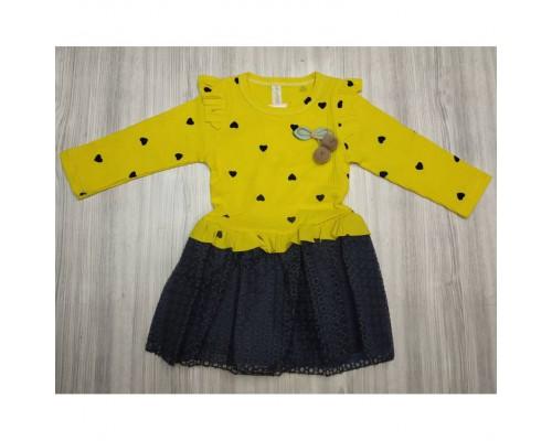 Сукня жовта 3665