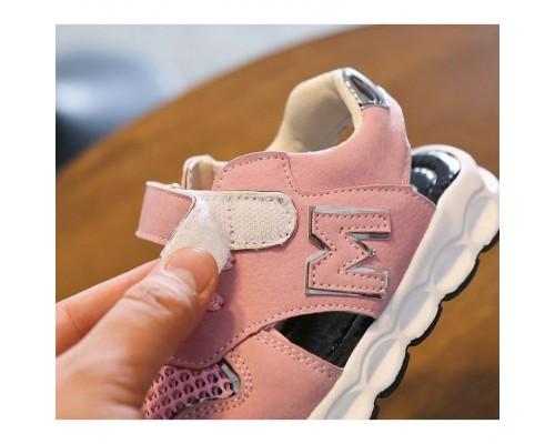 Босоніжки дитячі MG рожеві