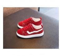 Кеди дитячі Fashion PU-замша червоні