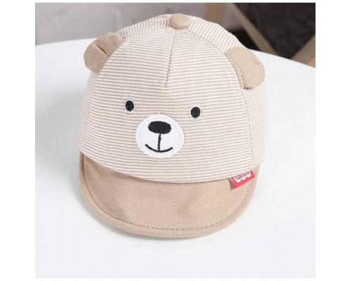 Кепка Bear коричневаа 4009
