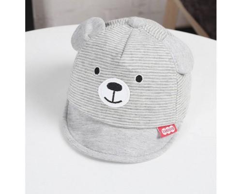 Кепка Bear сіра 4010