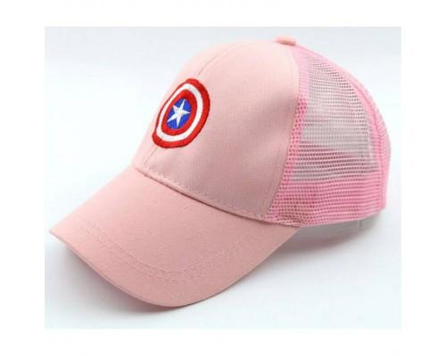 Кепка Marvell рожева сітка 4122