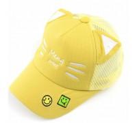 Кепка Meng sweet жовта 4128