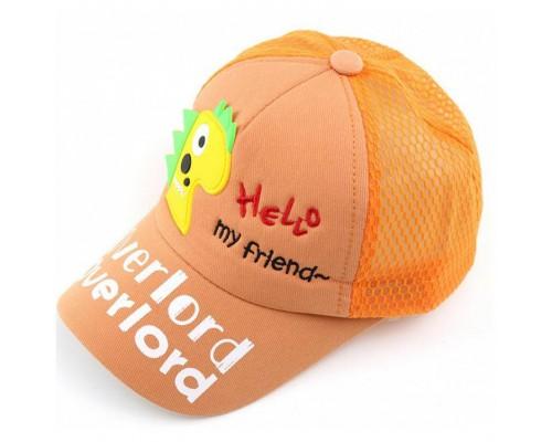 Кепка My friend оранж 4133