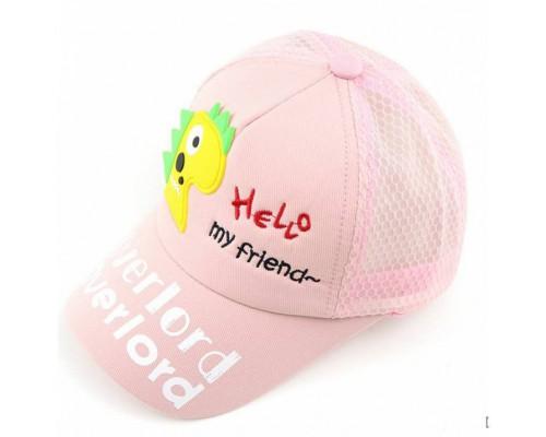 Кепка My friend рожева 4134
