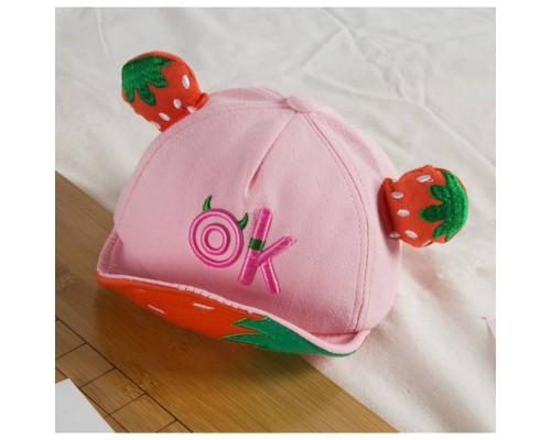 Кепка Ок рожева 4190