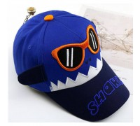 Кепка Shark синя 4094