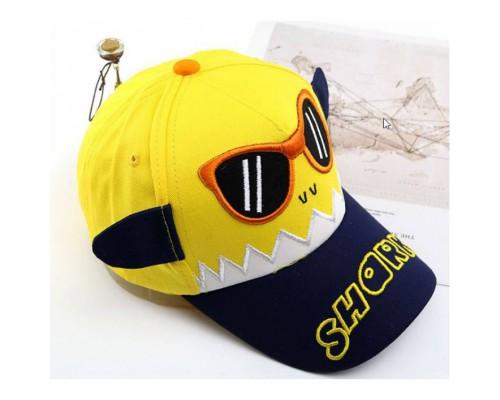 Кепка Shark жовта 4096