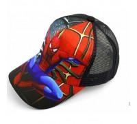Кепка Spider чорна сітка 4146
