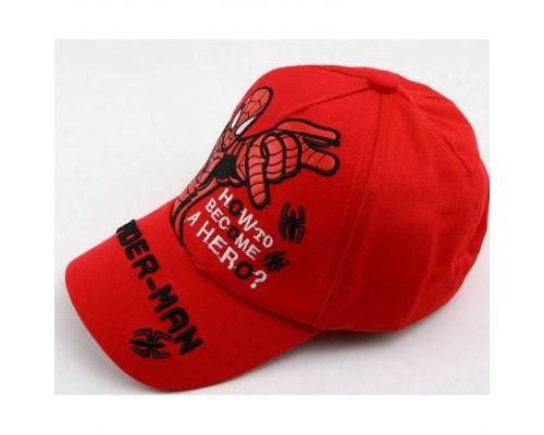 Кепка Spider-man червона 4171