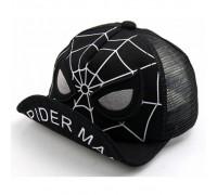 Кепка Spider Man чорна 2920