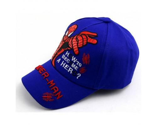 Кепка Spider-man синя 4163