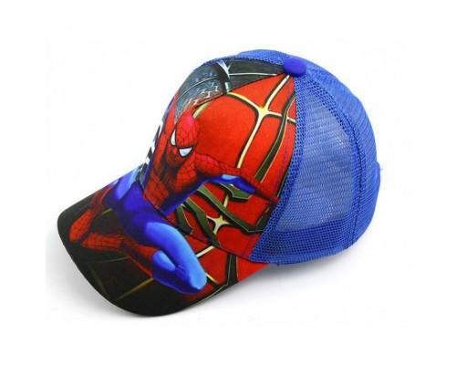 Кепка Spider синя сітка 4148