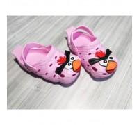 Крокси дитячі рожеві 7935
