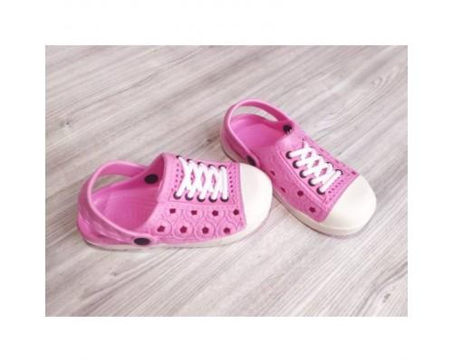 Крокси дитячі рожеві 7940