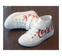Кросівки дитячі Coca білі