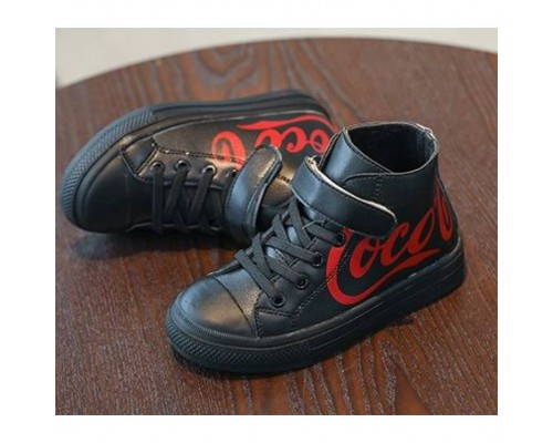Кросівки дитячі Coca чорні