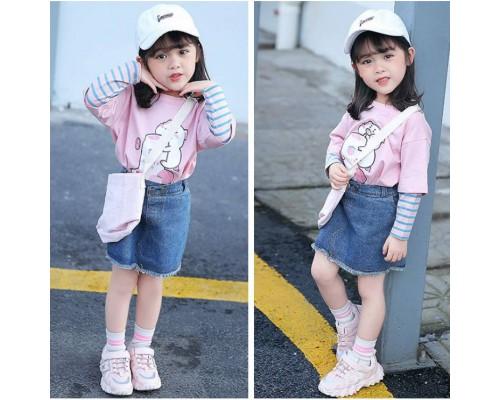 Кросівки дитячі M-boan рожеві