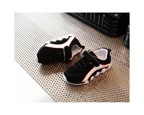 Кросівки дитячі PU-замша чорні