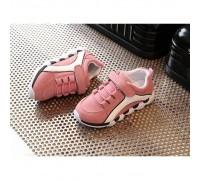 Кросівки дитячі PU-замша рожеві